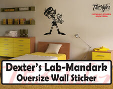 Dexter's Lab -Mandark Custom Wall Oversize Wall Sticker
