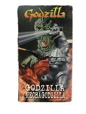 Godzilla VS. Mechagodzilla - (VHS,1997) Rare*