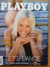 Playboy Magazin 2006/09, Isabel Edvardsson, Sammlung vom September 2006
