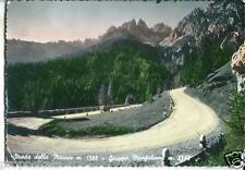 ve 223 1952 STRADA DELLA MAURIA (Belluno) FIAT 500 viagg - Ed.Edelweiss Calalzo