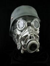 Chemical Warfare Halloween Horror Latex Mask Prop, NEW