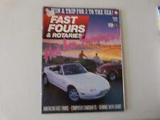 FAST FOURS AND ROTARIES CAR MAGAZINE - NOV / DEC 1989