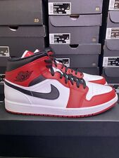 Nike Air Jordan 1 Mid Chicago 2020 White Heel / Toe UK 10.5