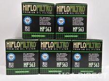 Aprilia RXV450 Enduro 2006 a 15 HifloFiltro Filtro De Aceite HF563 x Paquete 5