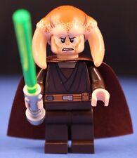 LEGO® brick STAR WARS™ SAESEE TIIN™ 9526 Minifigure + Brown Cape & Lightsaber!