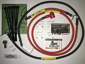ES-11 Ducati Streetfighter 848 / 1098 Hi Cap Electric Upgrade Cable Kit