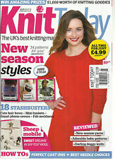 KNIT TODAY,  FEBRUARY, 2014   ISSUE # 95   ( THE UK'S BEST KNITTING MAGAZINE )