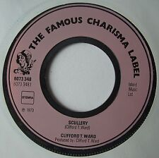 """7"""" CLIFFORD T WARD SCULLERY HOLLAND 1973 CHARISMA LABEL NM"""