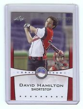 DAVID HAMILTON 2013 Leaf *POWER SHOWCASE* Ruby Version #d Card RC xx/250