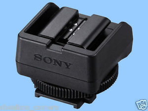 New Sony ADP-MAA External Flash Shoe Adapter Minolta NEX Alpha A99 6 A7 A7R A7S
