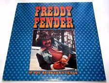 Freddy Fender If You're Ever In Texas 1976 ABC DOSD-2016 Tex-Mex Country LP VG