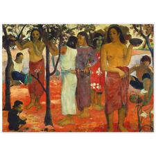 Paul Gauguin, Nave Nave Mahana, Herrliche Tage, Poster