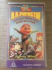 HR Pufnstuf VHS Video Tape