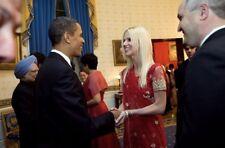 Political Memorabilia Obama White House Scandal  Salahi Gate Crasher Sari Rare $