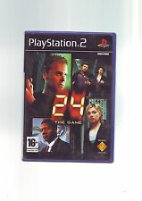 24 THE GAME - SONY PS2 GAME / 60GB PS3 COMPATIBLE- FAST POST ORIGINAL & COMPLETE