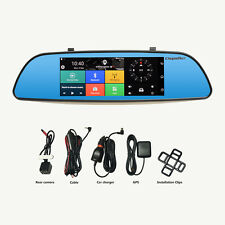 7'' 3G Car DVR GPS Android 5.0 1080P Auto Rückansicht Monitor Rückfahrkamera