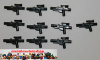 Lego® Star Wars 10X Black Minifig Gewehr, Weapon Gun, Blaster Short, 58247