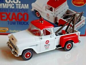 US Olympic team TEXACO TRUCK CHEVROLET 1955 pick up - MATCHBOX 1:43