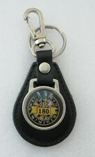 "Darts ""180"" Leather Key Ring"