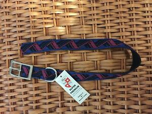 "Alpen brand Super Premium 20"" Dog Collar - Black, Royal Blue, Pink - New w/ tags"