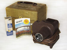 Vintage 1950s Sawyers Viewmaster Disk Reel Projector with Case and Accessories