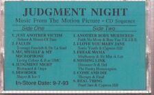 judgment night music motion picture cassette promo pearl jam cypress hill