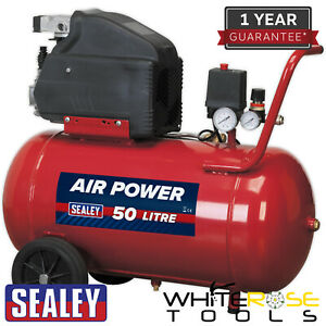 Sealey Compressor 50L Direct Drive 2hp