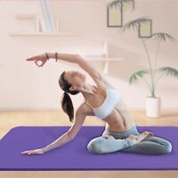 High Quality Exercise Yoga Pad Mat Non Slip Durable Pilates Physio Fitness Gym