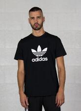 T-shirt Uomo adidas Trefoil T Shirt Nero 6610458 XL
