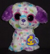 TY BEANIE BOOS BOO'S - DARLING the POLKA DOT DOG - MINT with NEAR MINT TAG
