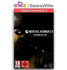 Mortal Kombat MK X  Premium Edition Steam Key Digital Download Code EU/US/MULTI