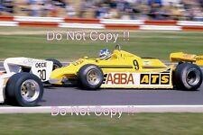 Slim Borgudd ATS HGS1 British Grand Prix 1981 Photograph