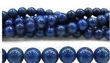 6mm Blue Egyptian Lazuli Lapis  Gemstone Loose Bead 15''