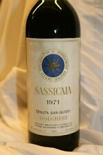 Sassicaia 1971 Tenuta San Guido Bolgheri