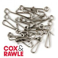 Cox & Rawle Rig Clips Sea Fishing Lure Quick Change Accessory 15 Pack CR.AR-C