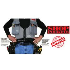 Work Tool Vest Utility Organizer Electrician Carpenter Plumber Construction Bag