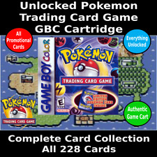 Pokemon Trading Card Game | All Cards + Everything Unlocked | GBC | Authentic