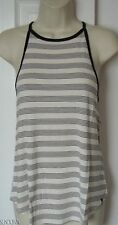 NWT WOMENS VOLCOM LIVED IN HIGH NECK STRAPPY TANK TOP TEE SHIRT M MEDIUM NEW