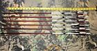 """6 Port Orford Cedar Target Arrows 11/32"""" 29"""" 125 grain 23/64"""" tapered to 5/16"""""""