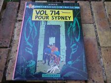 TINTIN VOL 714 POUR SYDNEY EO édition originale 1968 2em tirage, BON ETAT