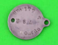 Rare pre WWII Army Dog Tag Model 1924  (2 hole) M 1924