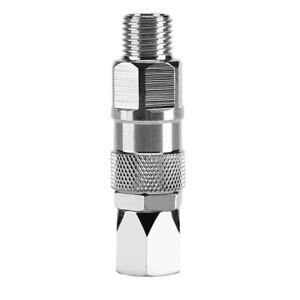 1/4 Inch Swivel Joint Adapter For Airless Paint Spray Sprayer Gun HoseStainless