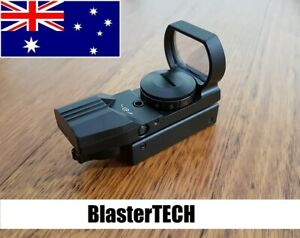 Reflex Graphic Red Dot Holographic Sight Scope Airsoft for Nerf Blaster