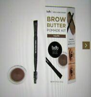 Billion Dollar Brows- Brow Butter Pomade Kit-in taupe-NIB & bonus items