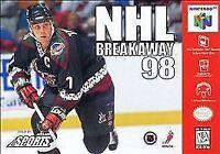NHL Breakaway 98, Acceptable Nintendo 64,Nintendo 64 Video Games