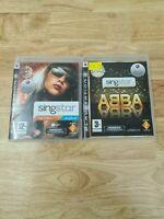 Sony Playstation 3 Singstar Game Bundle Singstar Pop and ABBA