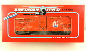 AMERICAN FLYER/Lionel S Scale #6-48317 Rath RPPX Reefer Car Orange ~NIB~ T142