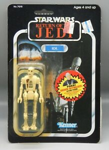 1983 vintage Kenner Star Wars 8D8 droid action figure sealed Jabba dungeon MOC