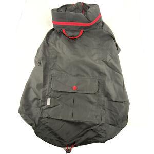Top Paw Windbreaker Jacket For Dogs XS, L, XL, XXL  Pet Apparel Black Red