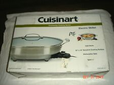 Cuisinart CSK-150 1500 Watt Oval Electric Skillet       BRAND NEW